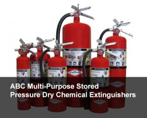 ABC Multi-Purpose Stored Pressure Dry Chemical Fire Extinguishers
